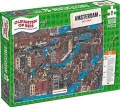Tucker's Fun Factory Olifanten op Reis - Amsterdam (1000)