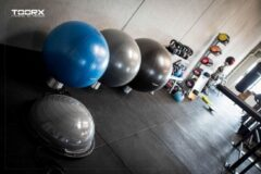 Toorx Fitness Toorx Gymbal PRO - 500 kg - 75 cm - Donkergrijs - Fitness Ball - Stability Ball