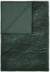 Groene Essenza Roeby - Bedsprei - Tweepersoons - 220x265 cm - Pine Green