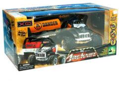 Radiografisch bestuurbare auto 1:10 Jacknife Stunt Truck