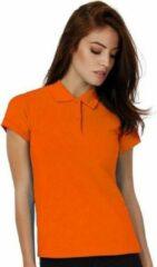 Bc Oranje poloshirts voor dames - Holland feest kleding - Supporters/fan artikelen - Werkkleding polo M (38/50)