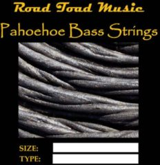 Road Toad Music U-bas Pahoehoe zwart 4-String