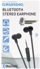 Zwarte Grundig Bluetooth Stereo earphone