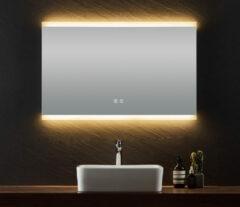 B-Stone Incluso spiegel met LED-verlichting en spiegelverwarming 100x70cm