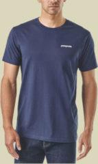 Patagonia P-6 Logo Organic T-Shirt Men Herren T-Shirt Größe XL classic navy