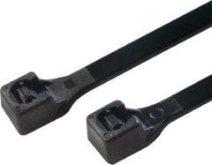 LogiLink KAB0004B kabelbinder Ladder cable tie Nylon Zwart 100 stuk(s)