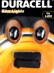Duracell BIK-M01DU Duracell Bike Lights M01 mit 1 LEDs Kleine mobiele lamp LED