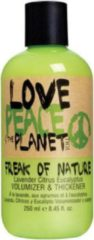 TIGI Love, Peace & The Planet Freak of Nature Volumizer & Thickener volymisoiva muotoiluvoide 250 ml