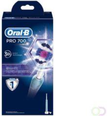 Roze Oral-B Pro 700 3DWhite Elektrische Tandenborstel - Blauw