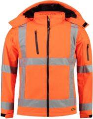 TRICORP SAFETY Tricorp Soft shell jack RWS - Workwear - 403003 - Fluor Oranje - maat 3XL