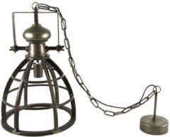 Donkergrijze Countryfield Lamp Barbera S - Donker Grijs - Kingsbridge Collections