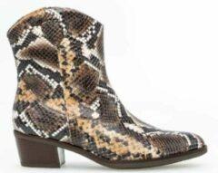 Bruine Gabor Cowboylaarzen slangenprint - Maat 37