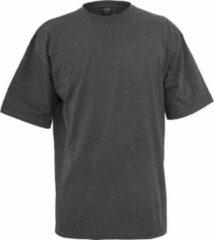 Urban Classics oversized T-shirt donkergrijs