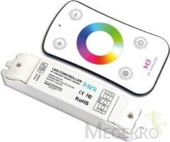 Witte RGB LED CONTROLLER MET RF-AFSTANDSBEDIENING
