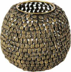 Rasteli Waxinelichthouder Metaal Brons-Koper D 15.5 cm H 14