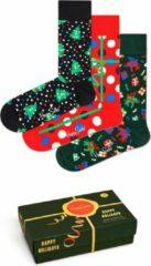 Happy Socks 3P Holiday Socks Giftbox - Maat 36-40