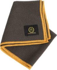 Natural fitness Yoga handdoek (hand) grijs/geel