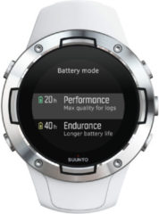 Witte Suunto 5 horloge met GPS - Horloges
