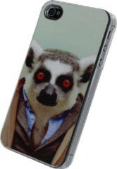 Apple iPhone 4/4S telefoonhoes - Funny Lemur - Xccess