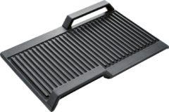 Zwarte Bosch HEZ390522 grillplaat restant model voor Flexinductiekookplaten