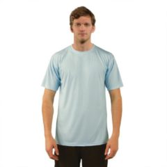Blauwe Skinshield by Vapor Apparel - UPF 50+ UV-zonbeschermend heren performance T-Shirt, korte mouwen