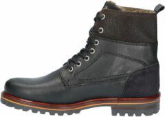 Zwarte Rapid Soul Loek Black Boots veter-boots