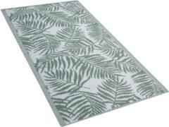 Beliani Outdoor tapijt groen 90x150 cm KOTA