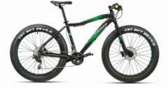 Montana Bike 26 ZOLL MONTANA FAT TIRE MOUNTAINBIKE 20 GANG Herren schwarz-grün