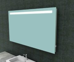 Ced'or spiegel met led verlichting + stopcontact 1400x800