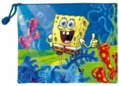Blauwe SpongeBob toilettas