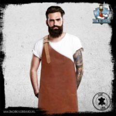Maximus - 100 % Leren Schort - Cognac - BadBoysBrand - Made in Jail - Vaderdag