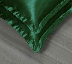 Beauty Silk - Satijnen Kussenslopen Set - Groen