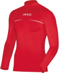 Jako - Turtleneck Comfort Junior - rood - Maat 140 - 152