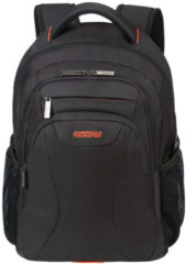 "Zwarte American Tourister At Work Laptop Backpack 15.6"" black/orange backpack"