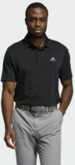 Zwarte Adidas Ultimate365 Solid Left Chest Poloshirt