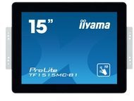 Iiyama ProLite TF1515MC-B1 - 38 cm (15'') Klasse LED-Display TF1515MC-B1