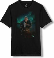 Zwarte Assassin's Creed Valhalla - Eivor T-Shirt XXL