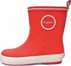 Druppies Regenlaarzen - Fashion Boot - Rood - Maat 26