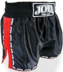 Joya Fight Gear Joya Thaiboks Shorts Zwart Rood Mesh Joya Fightstore Kies hier uw maat: S - Jeans Maat 30