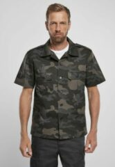 Brandit Blouse - Shirt - Ripstop - Shortsleeve - Urban - Casual - Streetwear Overhemd - Shirt Heren Overhemd Maat M