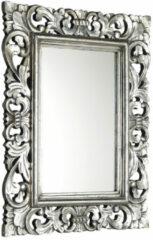 Sapho Scule barok spiegel met zilver omlijsting 40x70cm
