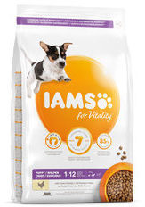 Iams Dog Puppy - Junior Small - Medium Kip 12 kg