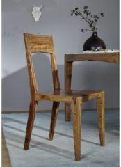 Stuhl ANCONA Massivmoebel24 braun