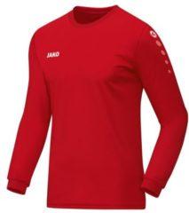 Jako Team Longsleeve T-shirt Heren Sportshirt - Maat XL - Mannen - rood