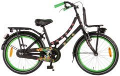 Volare 20 ZOLL TROPICAL GIRL Junior Bike Kinder schwarz