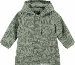 Babyface zomerjas met all over print olijfgroen