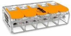 Enzo WAGO Lasklem hersluitbaar 5-voudig ds15 max.6qmm