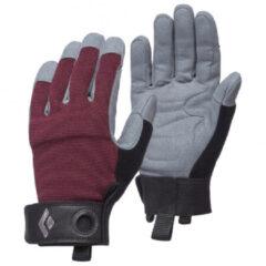 Bordeauxrode Black Diamond - Women's Crag Gloves - Handschoenen maat S, bordeaux