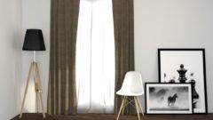 Larson - Luxe Geweven Blackout Gordijn - Ringen - Taupe - 300 x 250 cm - Verduisterend & kant en klaar