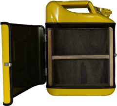 Designed By Man Jerrycan cabinet basic+ geel